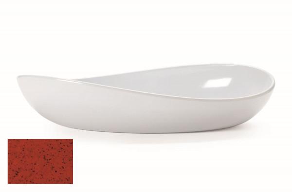 Melamin Schale, oval Osslo™ Chili - 1,9 l - 38 x 20 cm
