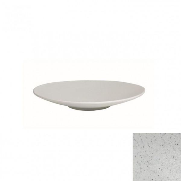 Wok flach, rund marmorweiß - 700 ml - Ø 31 x 3,5 cm