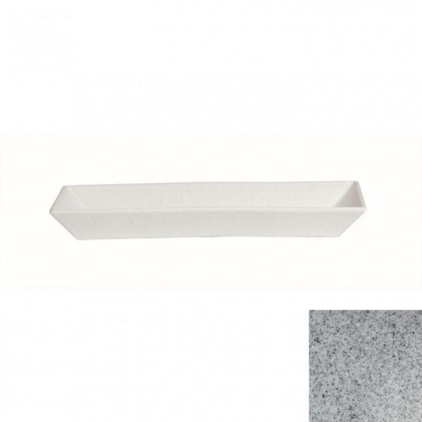 Schale rechteckig, tief grau - 3,0 L - 21 x 50,5 x 6 cm