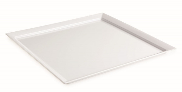 Melamin Tablett Siciliano® - weiß - 61 x 61 cm
