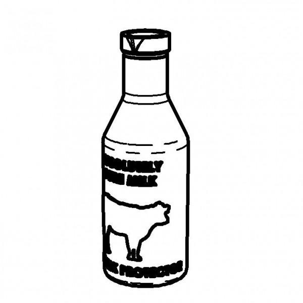 Milchflasche 1,0 Liter
