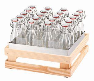 RAISER Getränke-Set '33x33' M-Standfuß 'Spruce'