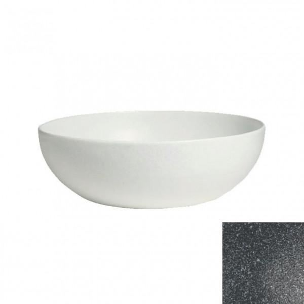 tiefe Schüssel, rund, XL granitschwarz - 15 L - Ø 50 x 18,5