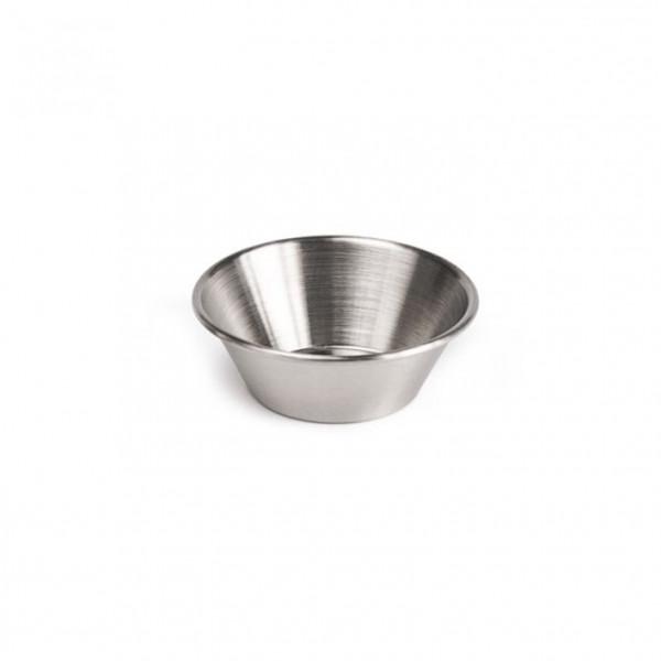 Saucen-Schälchen aus Edelstahl 59,1 ml - Ø 7 cm