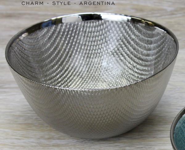 Glasschale, Champagne 700 ml - Ø 15,2 x 6,4 cm