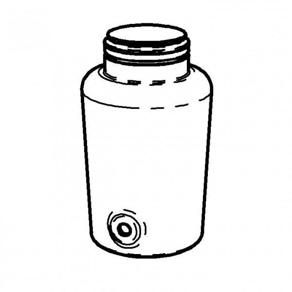 SPARE Behälter Classic Glascontainer mit Bügelverschluss, 5l