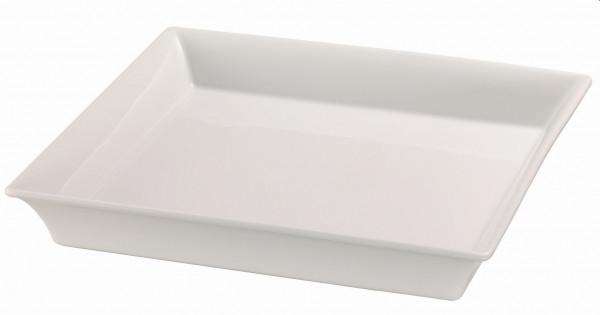Porzellanschale 33 x 33, weiß 3,5 l