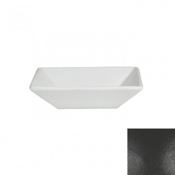tiefe Schüssel, quadratisch M schwarz - 1,8 L - 25 x 25 x