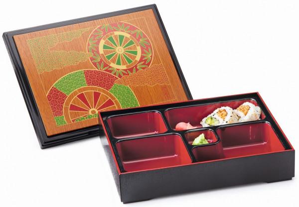 ABS Bento Box mit Abdeckung Fuji™ - 26,7 x 21 cm