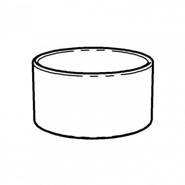 SPARE Behälter - weiß Porzellandose 2 l, ohne Porzellandecke
