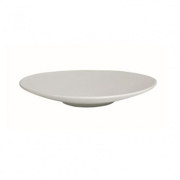 Wok flach, rund weiß - 1,8 L - Ø 39 x 5,5 cm
