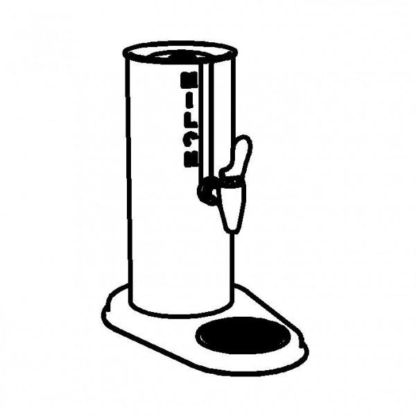 GASTRO Kaffeesahnespender 'Uno'