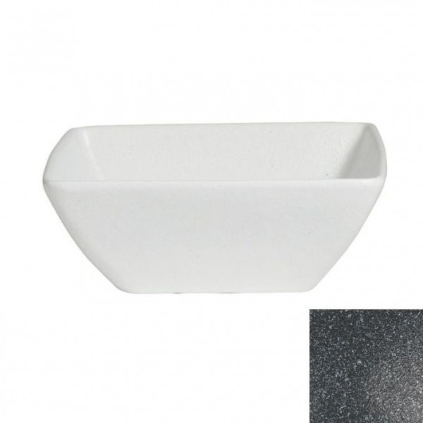 China Bowl, L granitschw. - 3,0 L - 26 x 26 x 10,5 cm