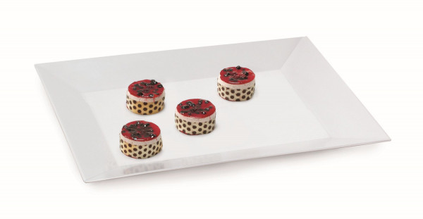 Melamin Tablett Siciliano® - weiß - 61 x 45,7 cm
