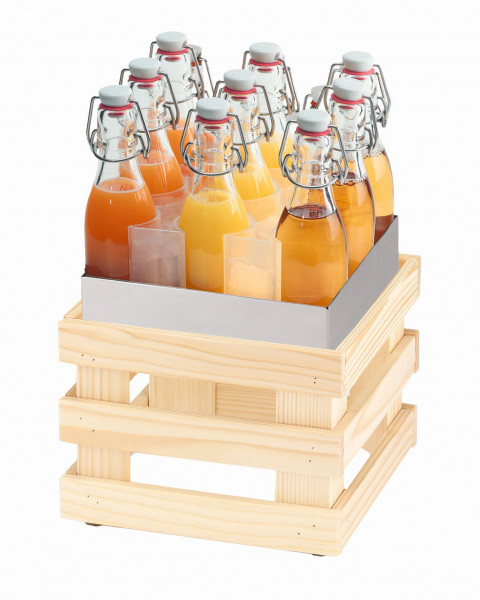 RAISER Getränke-Set ''23x23' L-Standfuß 'Spruce'