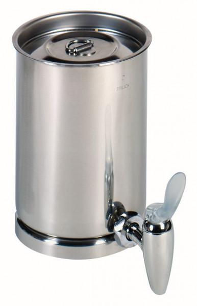 GASTRO Behälter Edelstahlbehälter mit Totalentleerung