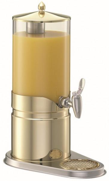 ELEGANCE Saftkanne 5 Liter, Gold, Behälter (klar)