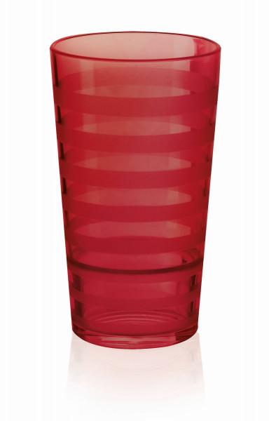 Tumbler aus SAN, rot Orbis™ - 591 ml - 8,6 x 16,6 cm