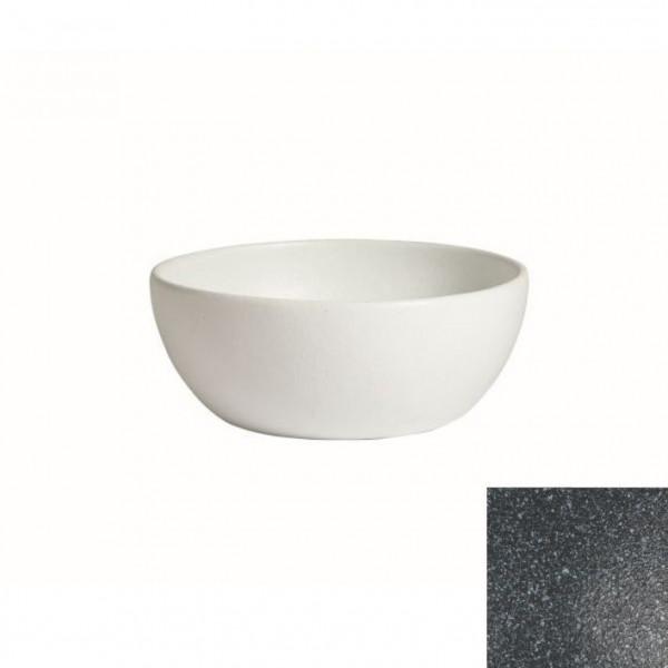 tiefe Schüssel, rund, M granitschwarz - 4 L - Ø 27,5 x 11 c