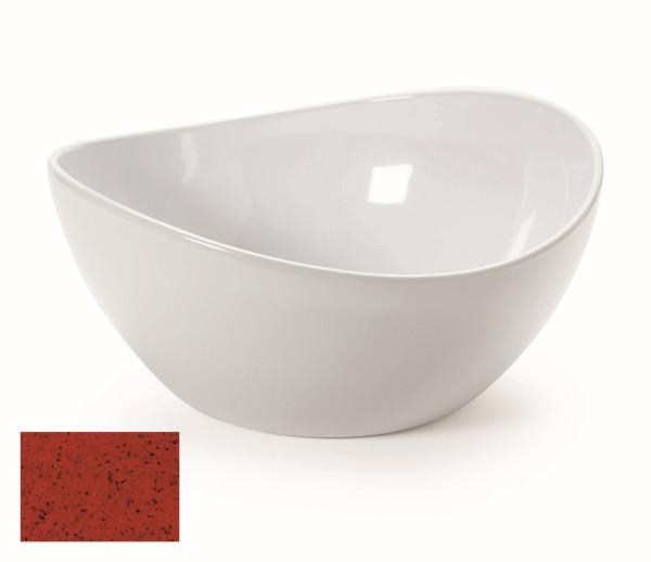 Melamin Schale, rund Osslo™ Chili - 3,8 l - Ø 27,9 cm