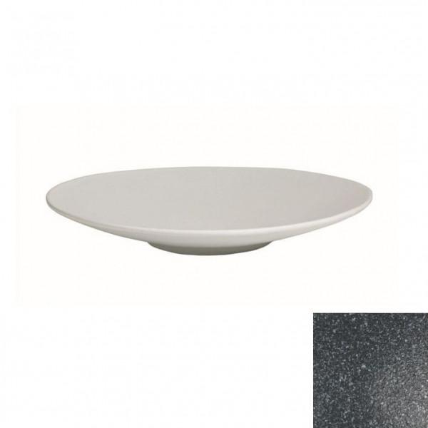 Wok flach, rund granitschwarz - 1,8 L - Ø 39 x 5,5 cm