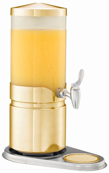 ELEGANCE Saftkanne 'Aktiv' (neu) 5 Liter, Modell Gold (opal)