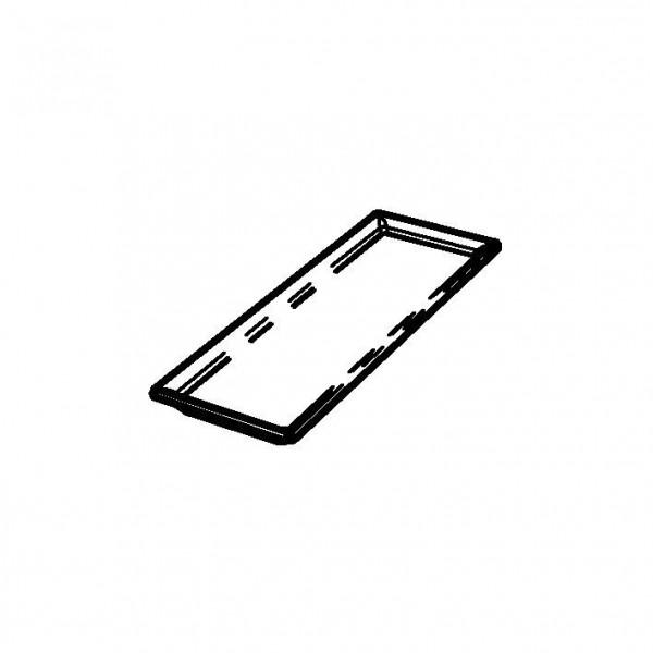 SPARE Platte/Schale '33x33' Porzellanplatte 1/3 für RAISER