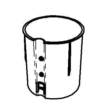 SPARE Behälter Innenbehälter, transparent
