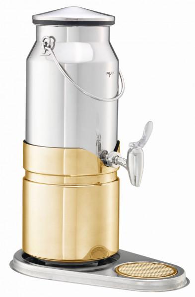 ELEGANCE Milchkanne 'Aktiv' (neu) 5 Liter, Modell Gold