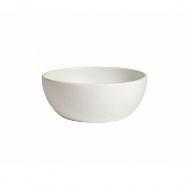 tiefe Schüssel, rund, M weiß - 4 L - Ø 27,5 x 11 cm