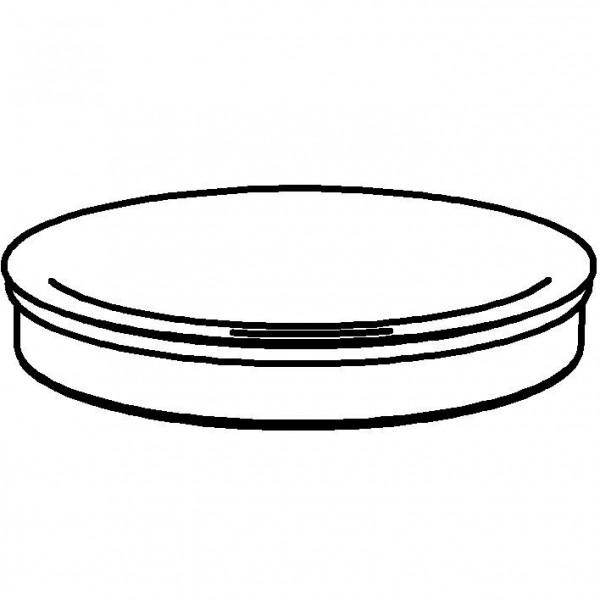 PICKNICK Frischeplatte `400` Porzellanplatte (Ø 410 mm)