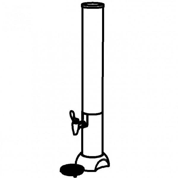 CONNECT Saftkanne 'Juicer' 4 Liter, Standfuß Modell '
