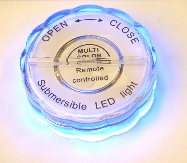 LED Licht, 13 Farben, wasserdicht Ø 17,5 x 7 cm