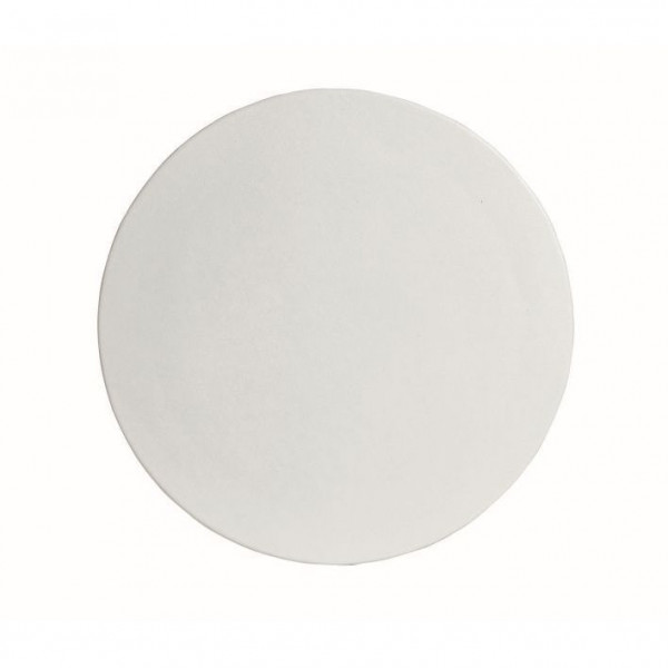 große runde Platte , L weiß - Ø 45,1 x 1,5 cm