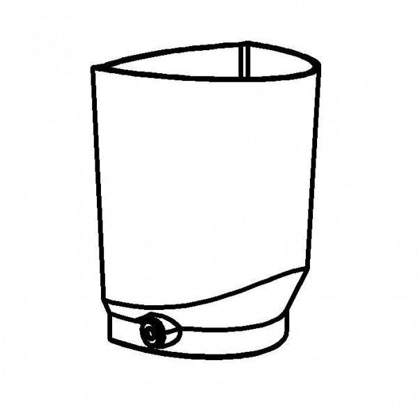SPARE Behälter Saftzylinder SAN, 5 Liter mit Fitting