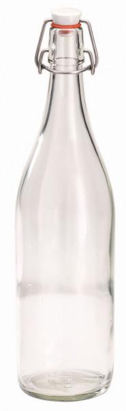SPARE Behälter Bügelflasche aus Glas (1 Liter)