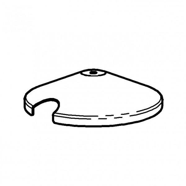 SPARE Deckel/Haube Deckel, vergoldet, für Konfitürenbar