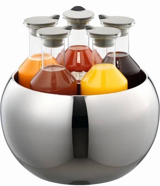 CARAFINE Getränke-Set `Quintet` 5 x 1,2 Liter