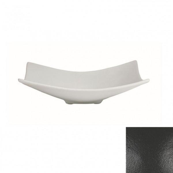 Obstschale L, quadratisch schwarz - 3 L - 39 x 39 x 11 cm