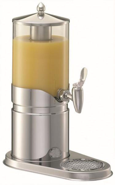 ELEGANCE Saftkanne 2,5 Liter, Edelstahl, Behälter (klar)