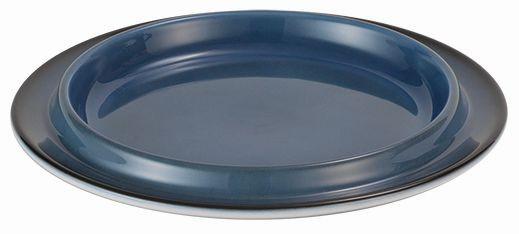 SPARE Platte/Schale - blau Porzellanschale Ø 200mm