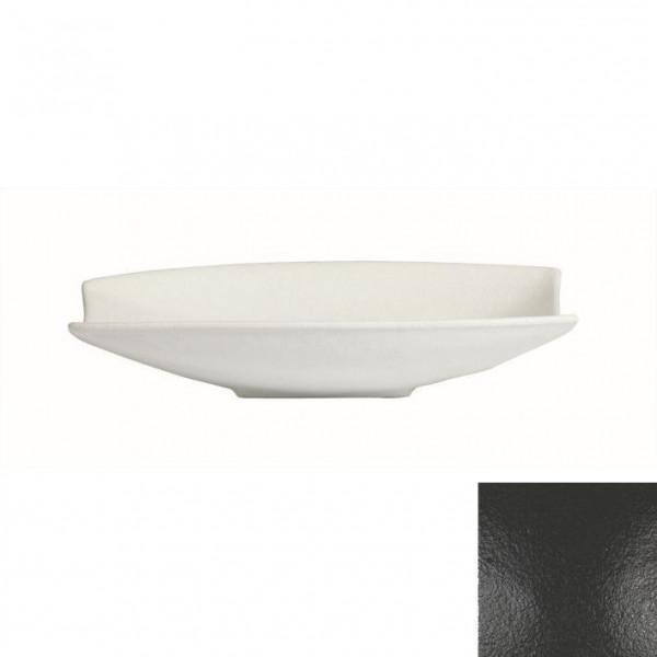 Obstschale mit Lippe, rechteckig schwarz - 4 L - 30,5 x 53,5