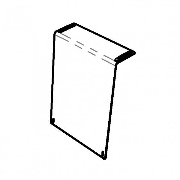 Hygieneschutz 'Counter 600', ohne Durchreiche (B: 600 mm)