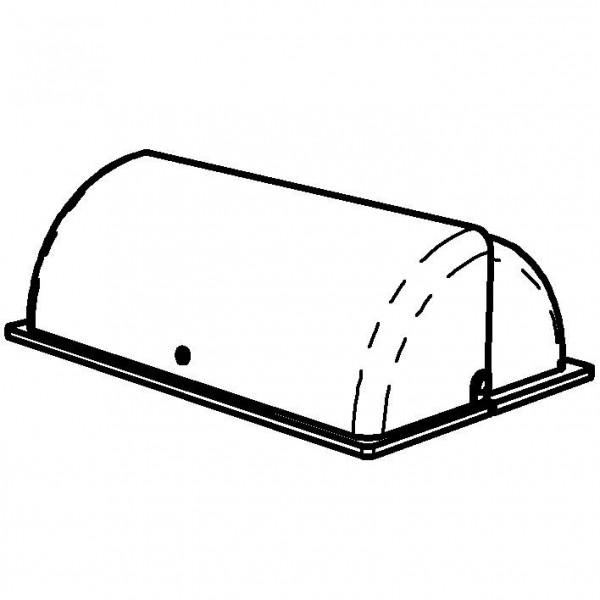 SPARE Deckel/Haube Rolltop-Haube, transparent (GN)