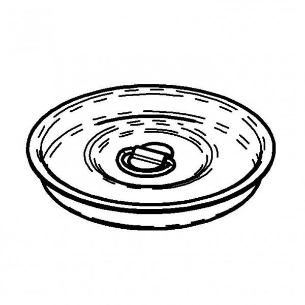 Deckel, Edelstahl für 2 Liter Kaffesahnekanne