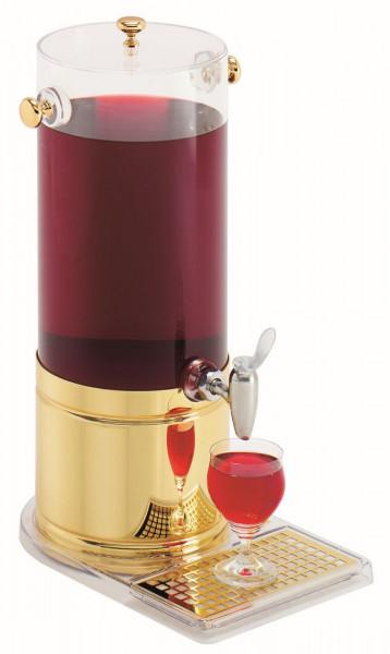 ELEGANCE Saftkanne 9 Liter, Modell Gold