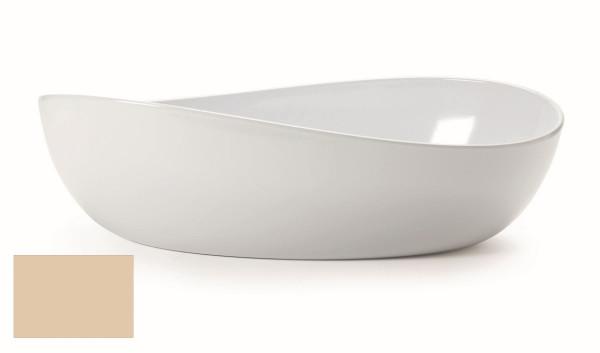 Melamin Schale, oval Osslo™ Manila - 5,7 l - 42,5 x 25,4 cm