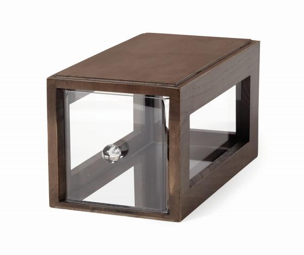 Brotbox 'Gray Ash' quadratisch - 33 x 18,5 x 18 cm