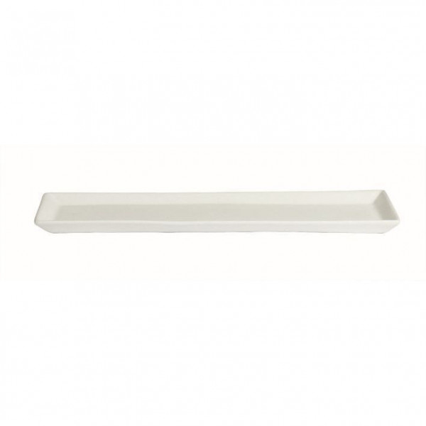 Gourmet Platte weiß - 500 ml - 19,5 x 48,5 x 3 cm