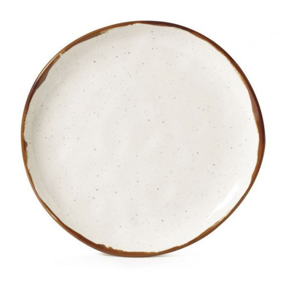 Melamin Teller, rund, ungleichförmig Rustic Mill™ - Ø 22,9 c